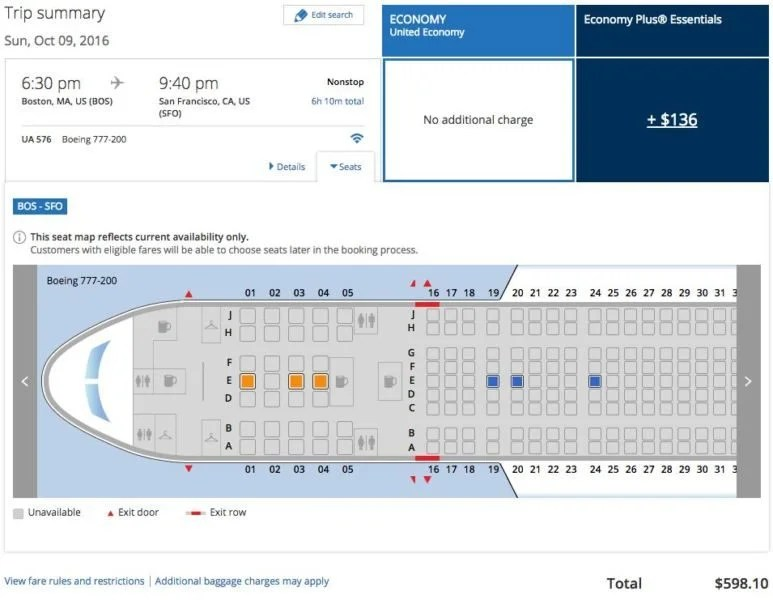 Is 747 A Good Credit Score >> United's Flying a 777 on Another Domestic US Route