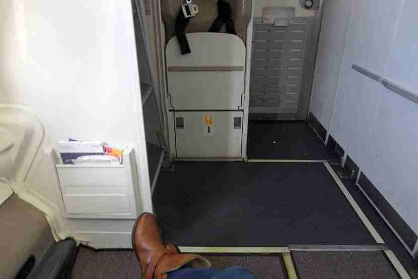 Roomy bulkhead seats, but I