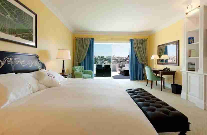 A Superior Room at The Yeatman in Porto. Image courtesy of hotel