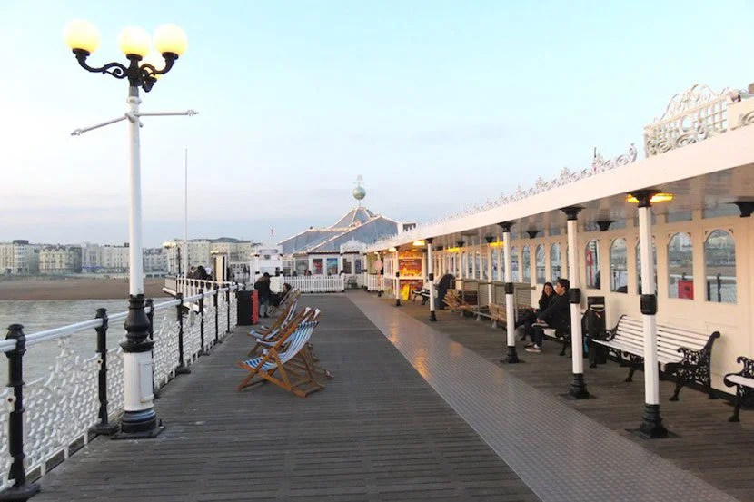 Strolling along Brighton Pier is a must-do activity for any visit to the Brighton area. Image by the author.