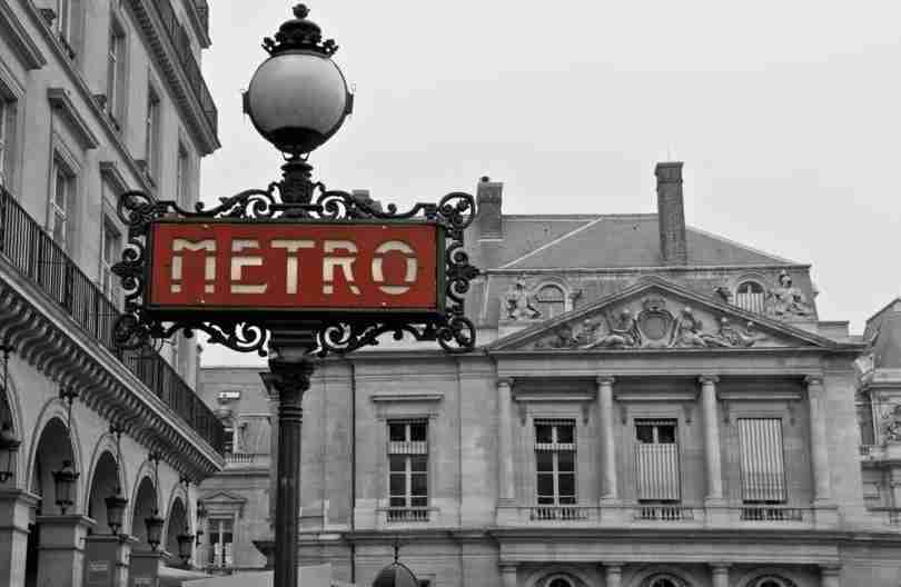 """The Paris Metro is an expansive system, so use it. Image courtesy of <a href=""""http://www.shutterstock.com/dl2_lim.mhtml?src=3TPL636L_jXuvYo1OA444Q-1-15&amp;id=129904658&amp;size=medium_jpg"""">Shutterstock</a>."""