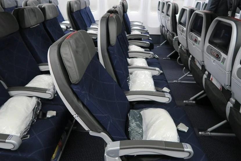 Main Cabin Extra seat recline.