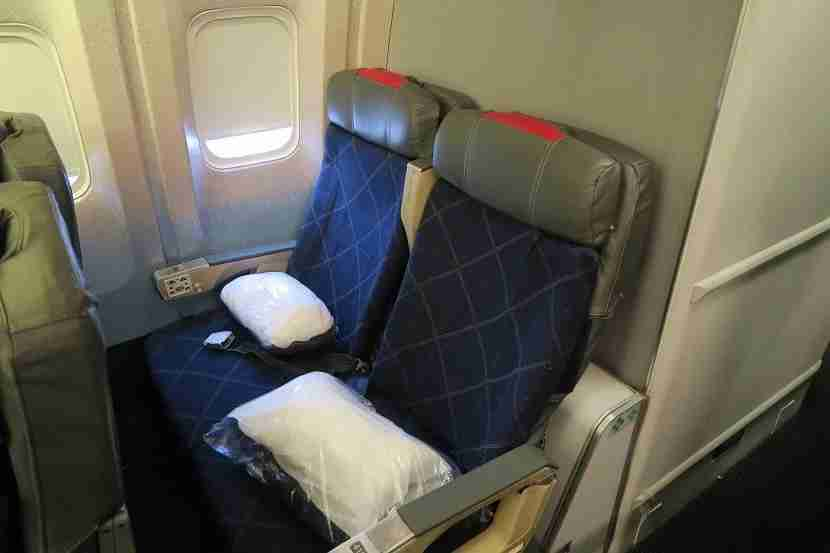 Avoid 41H and 41J if you want any recline.