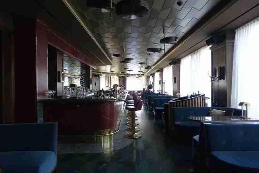 The Lang Bar, named after famed director Fritz Lang.
