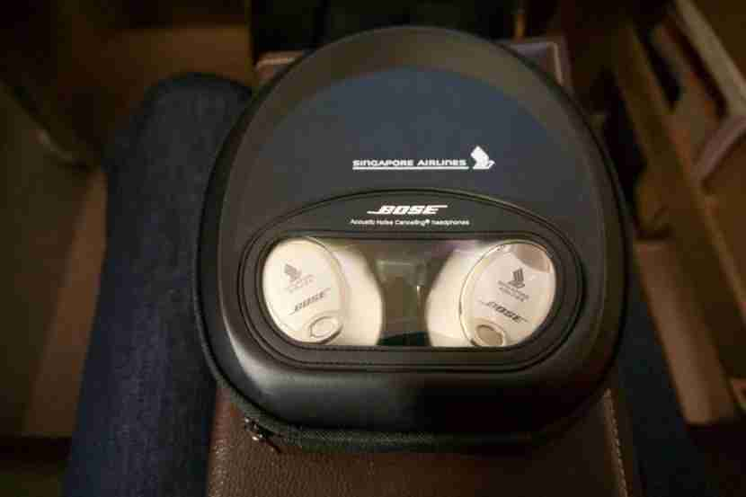 No cost-cutting on headphones for Singapore First Class