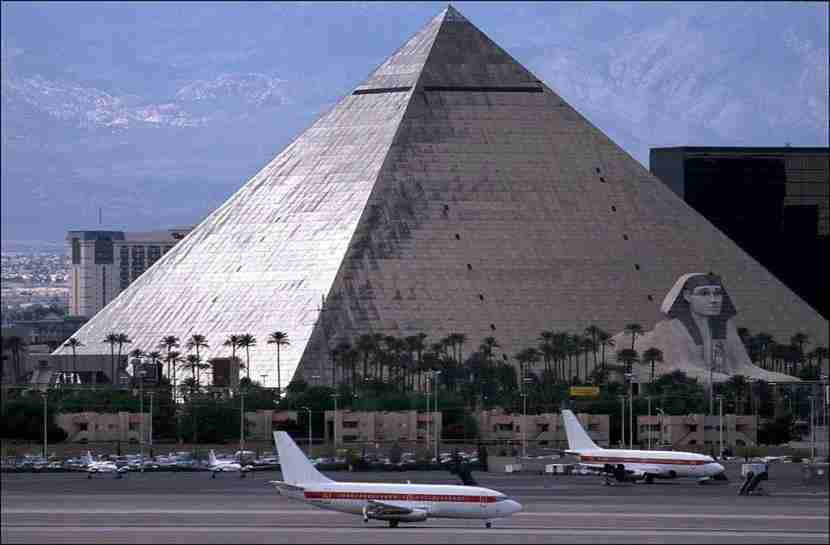 Other airlines are able to operate in Las Vegas