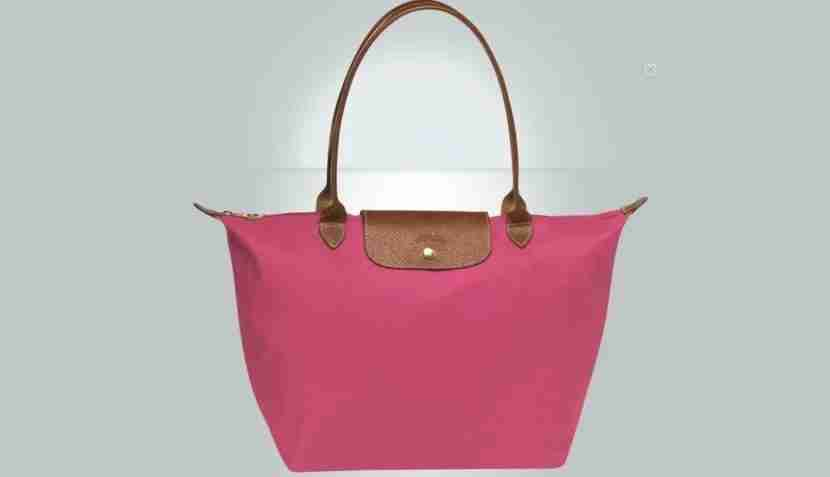 Longchamp totes are both cute and functional. Image courtesy of Longchamp.