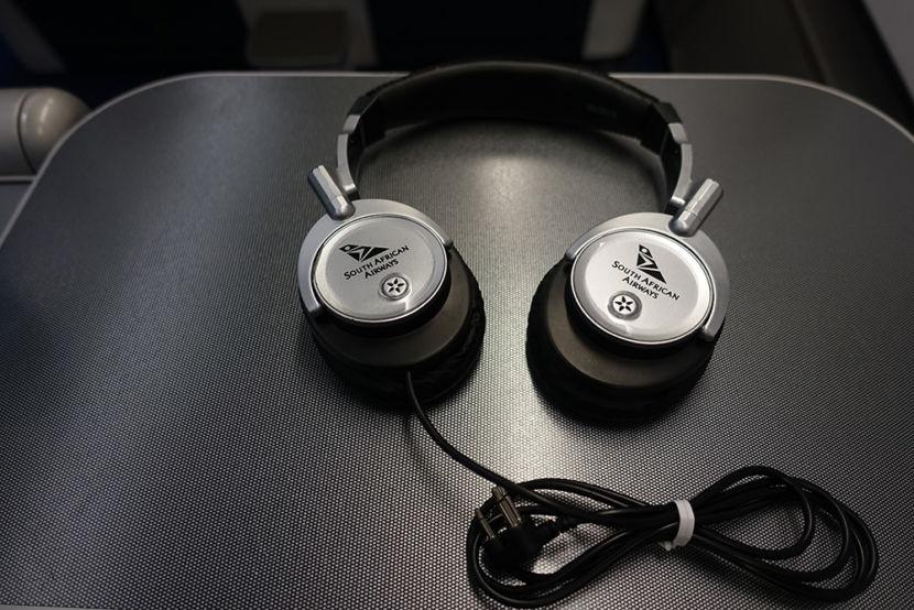 The headphones weren