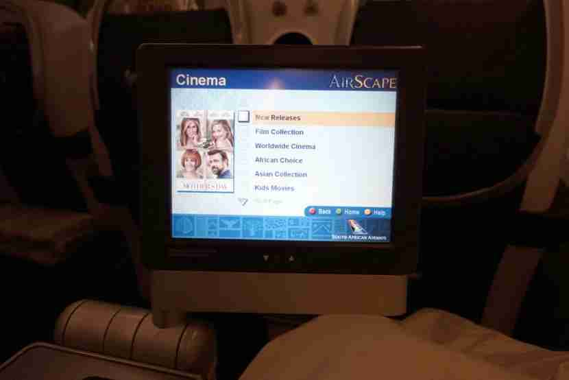the IFE actually had a decent selection of movies to pick from.