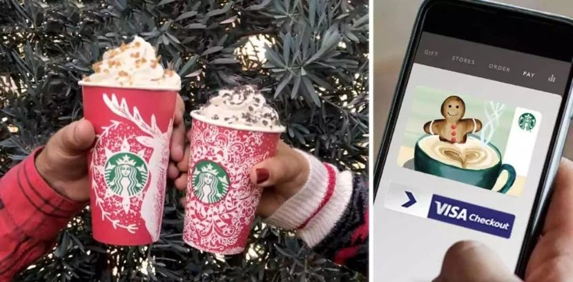 10 starbucks gift card when you reload with visa checkout