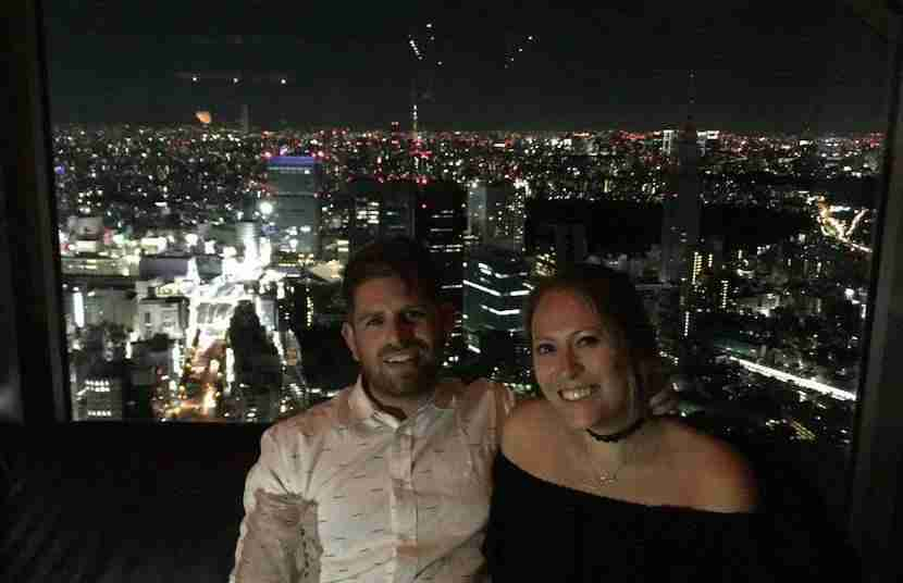 Becca and her boyfriend stayed at the Park Hyatt Tokyo thanks to her credit card