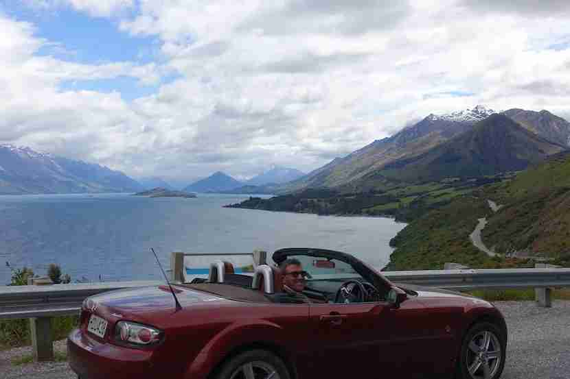 Adam and his husband use their Hilton points to stay in Queenstown on a recent trip to New Zealand.