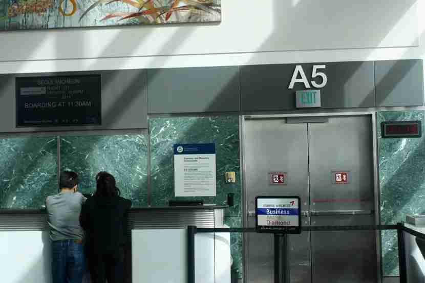 San Francisco Airport - Terminal A5