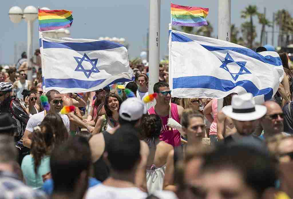 Be proud at Pride. Image courtesy of Jack Guez/AFP via Getty Images.