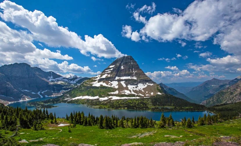 Hidden Lake at Glacier National Park in Montana. Image by ninicolor/Getty.