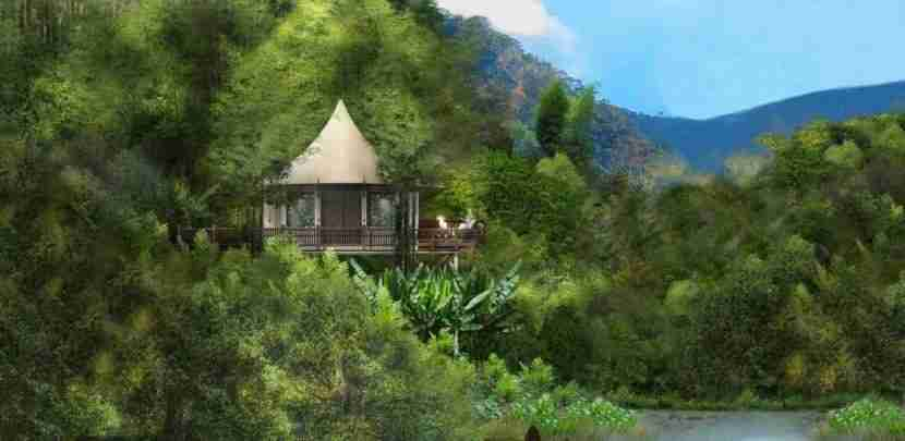 Rosewood goes glamping with a new property in Luang Prabang late in the year. Image courtesy of Rosewood.