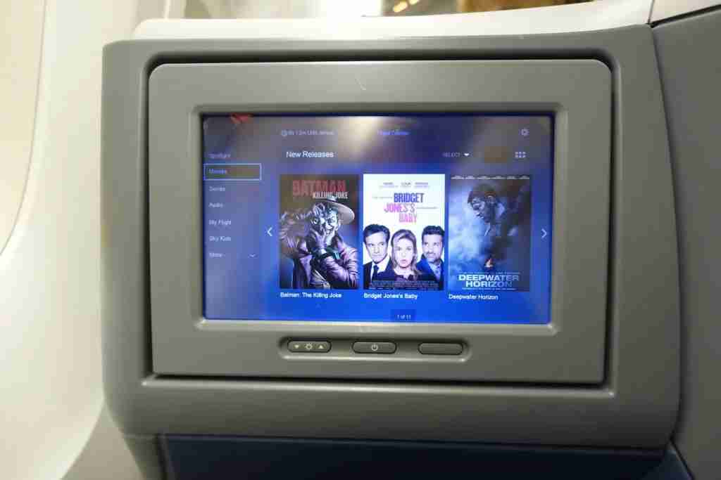 Delta offers entertainment through its Delta Studio system.