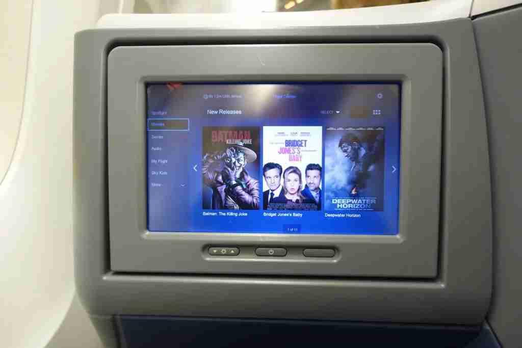 Delta offers entertainment through its Delta Studio system.