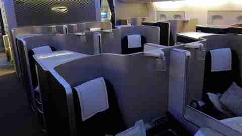 British Airways A380 First IAD - LHR