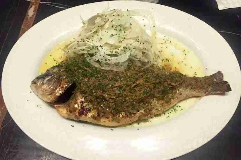The fish is always fresh in Beirut, especially at La Petit Maison. Image courtesy of the author.
