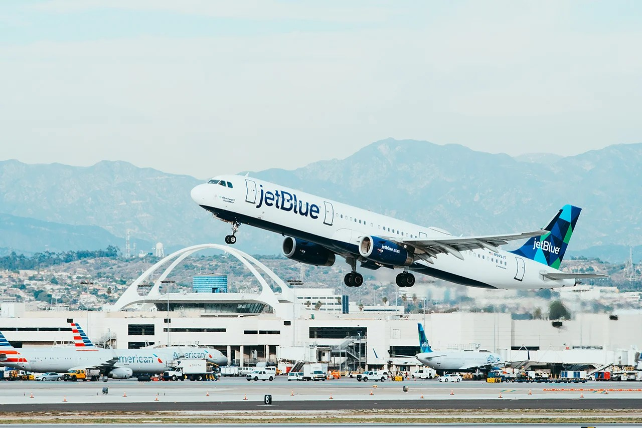 JetBlue Makes LAX It's Primary Los Angeles Airport