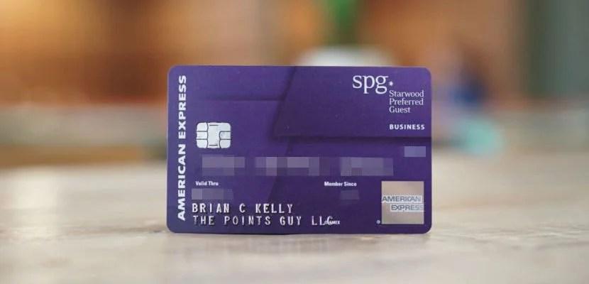 Starwood S Preferred Guest Credit Car