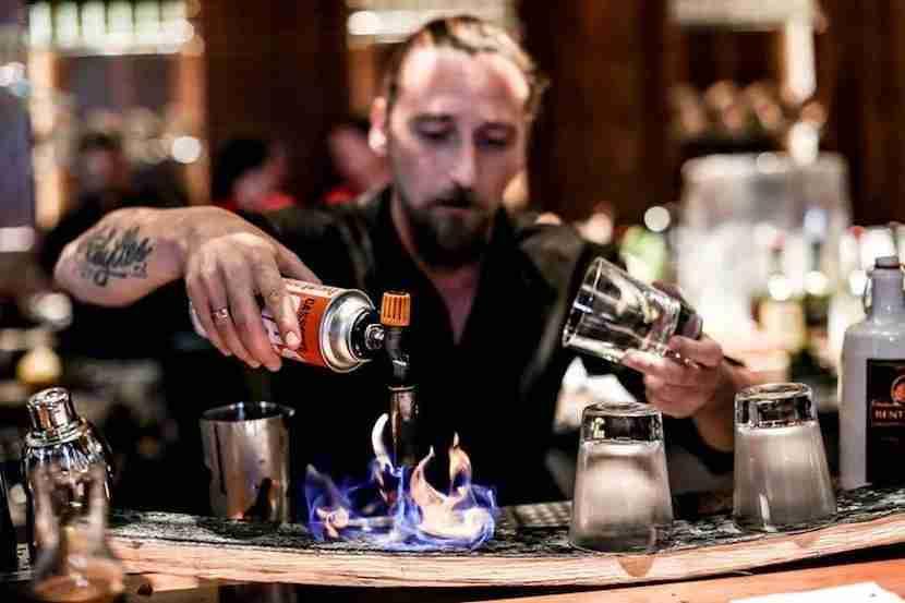 Linger over craft cocktails and Japanese fare at Zuma Dubai. Image courtesy of Zuma Dubai