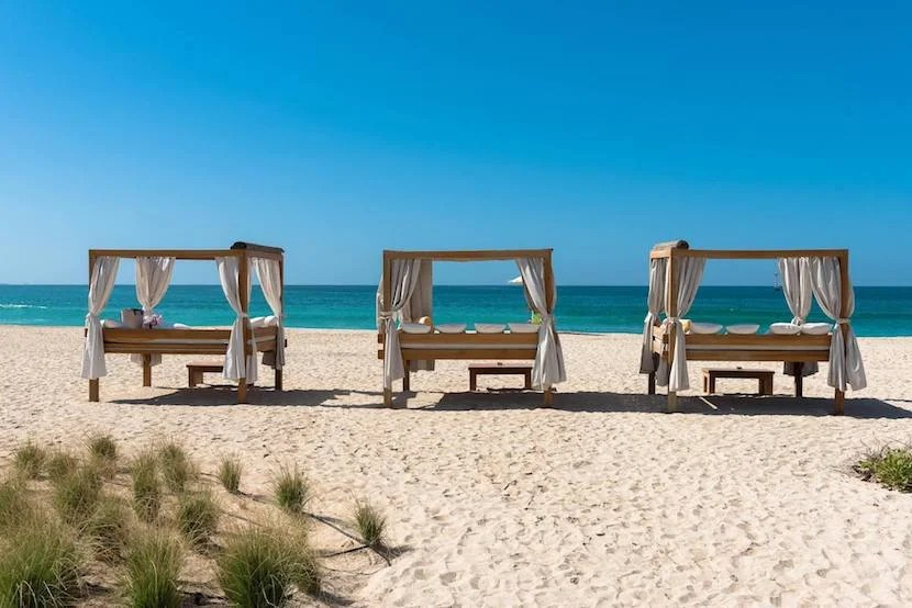 What Better Way To Spend An Unexpected Day In Dubai Than Lounging By The Beach