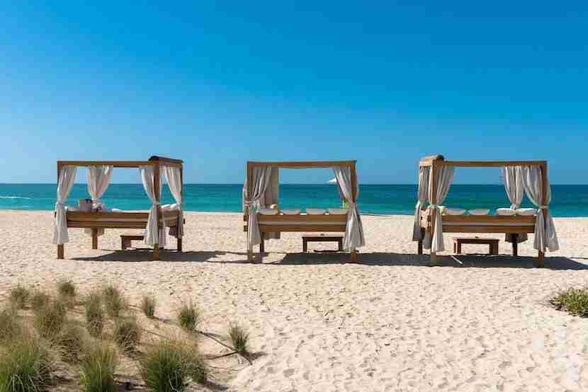 What better way to spend an unexpected day in Dubai than lounging by the beach? Image courtesy of Nikki Beach Dubai