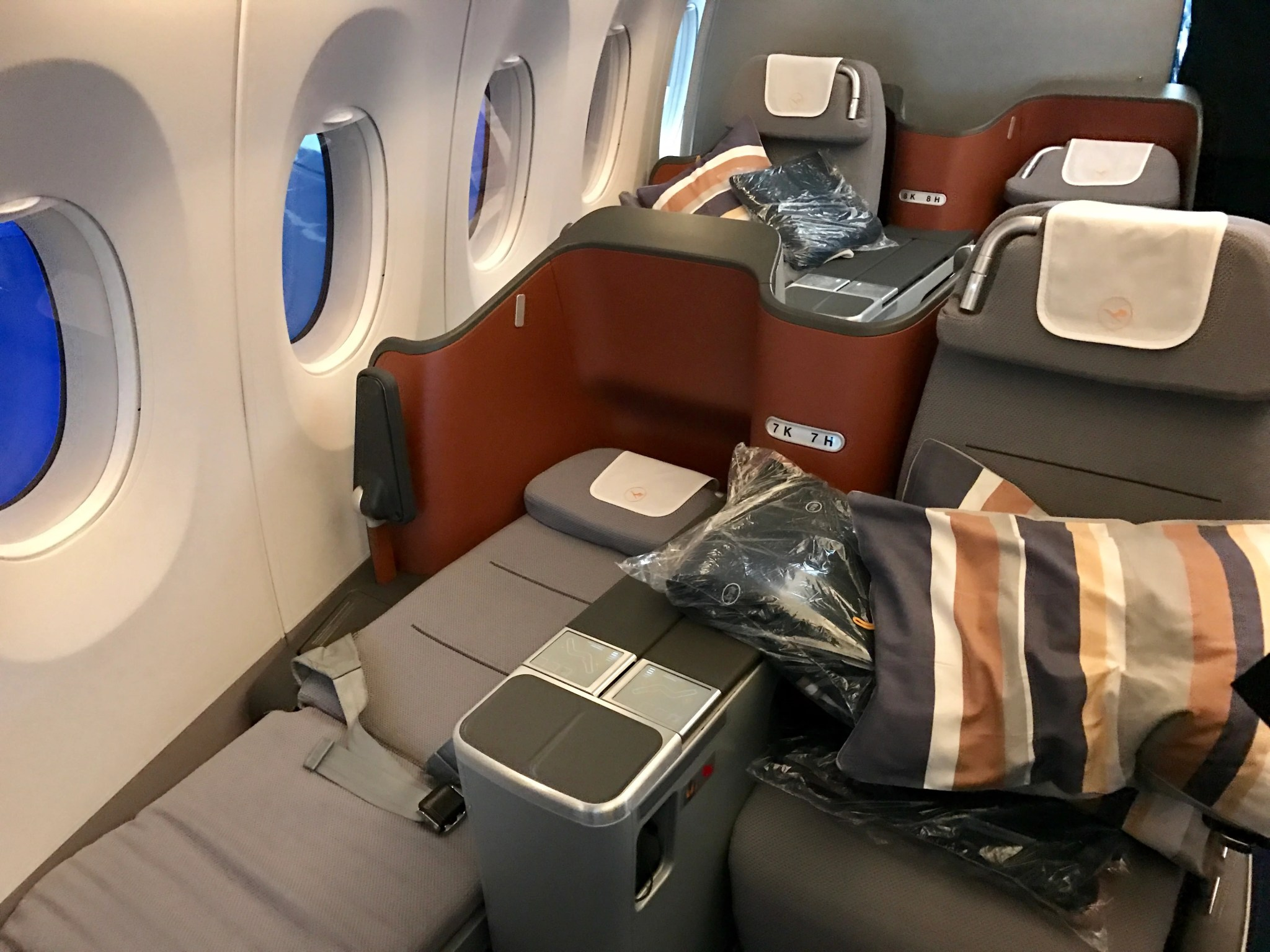 A Look Inside Lufthansa's First Airbus A350-900