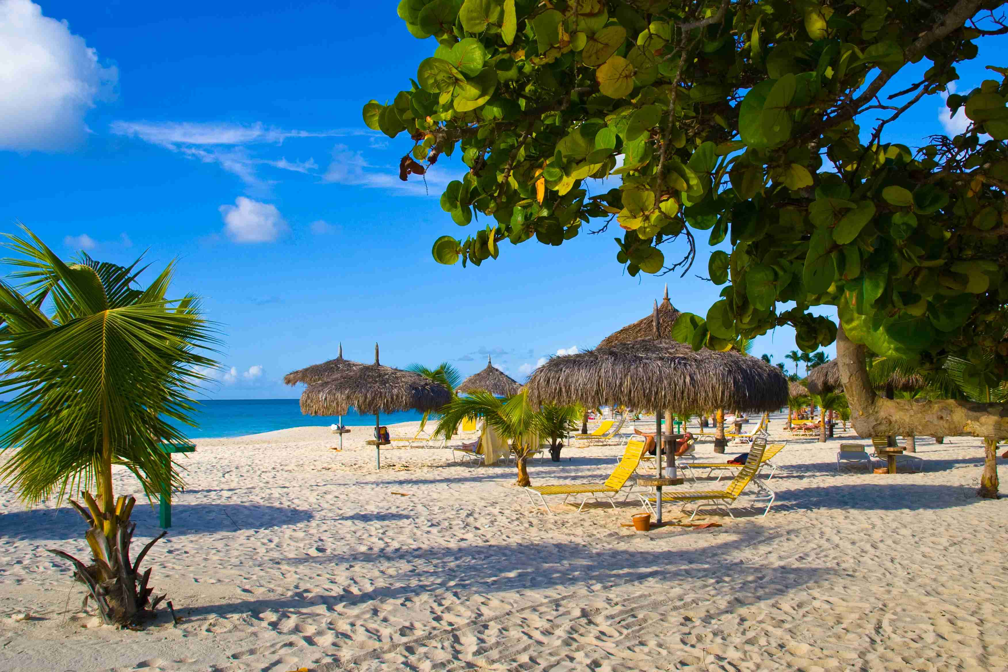 Eagle Beach in Aruba was ranked the third best beach in the world.