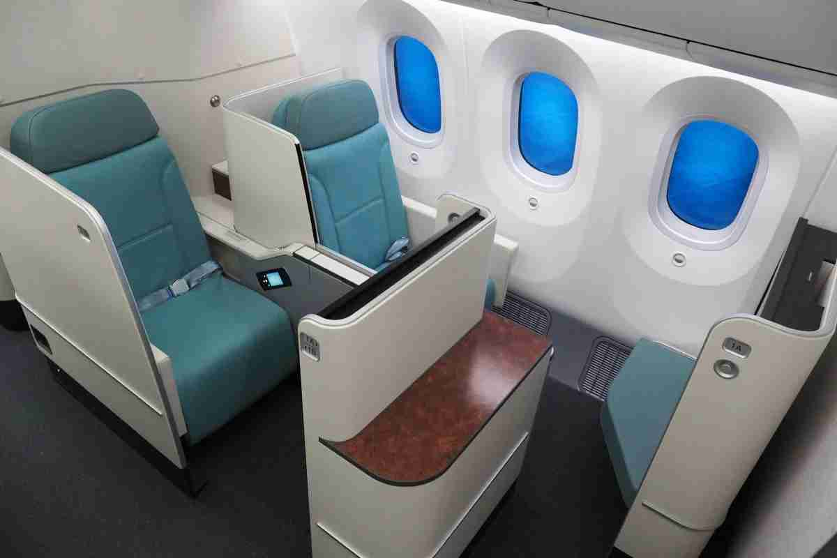 Korean Air 787-9 Dreamliner Tour Business First Economy