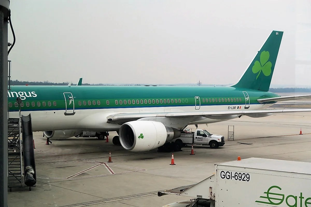 Image result for aer lingus 757