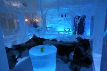 "Hotel ""cold Room"" Icehotel In Sweden"