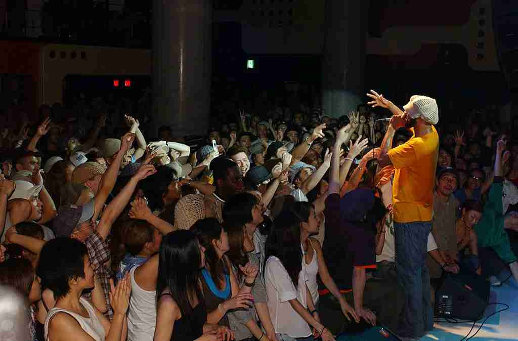 One thing the people of Tokyo and the US have in, er, Common? A love of hip-hop. Image courtesy of Jun Sato/WireImage via Getty Images.