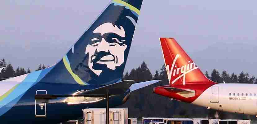 IMG Alaska Airlines Virgin America planes featured