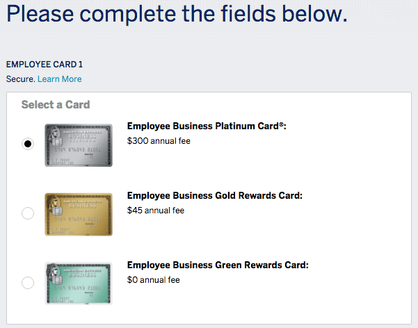 Can i add employee gold cards to my business platinum sign in to your online amex account and you can add up to 5 employee cards at one time reheart Images