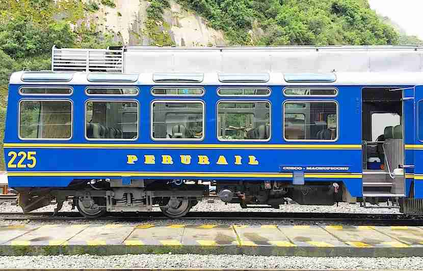 Peru Rail has several affordable options for getting from Cusco to Machu Picchu.