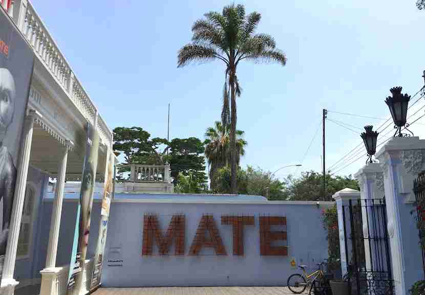 Mate is the new(ish) Mario Testino museum in Barranco.
