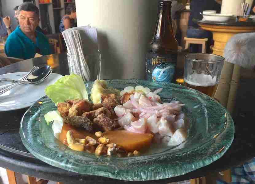 Peruvian food (especially ceviche) is gaining a following around the world.