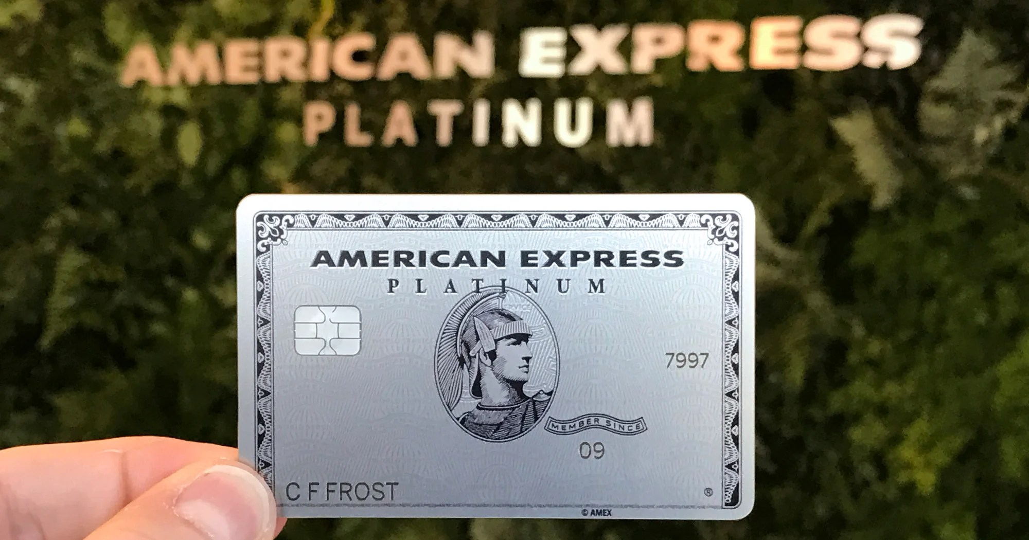 Order Your Metal Amex Platinum line in Less Than 5 Minutes