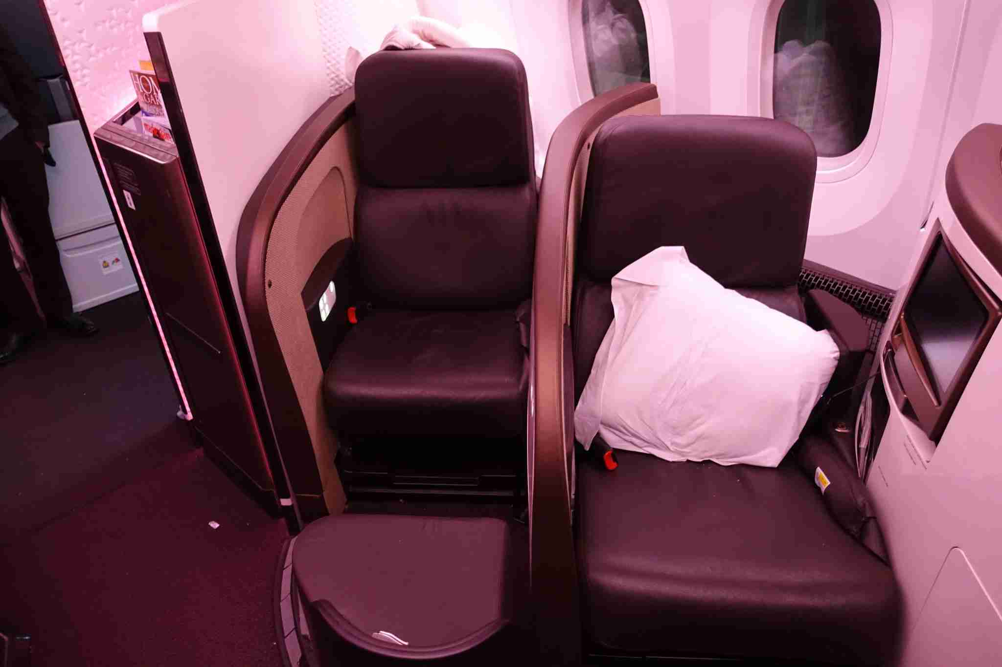 Virgin Atlantic 787 upper class2