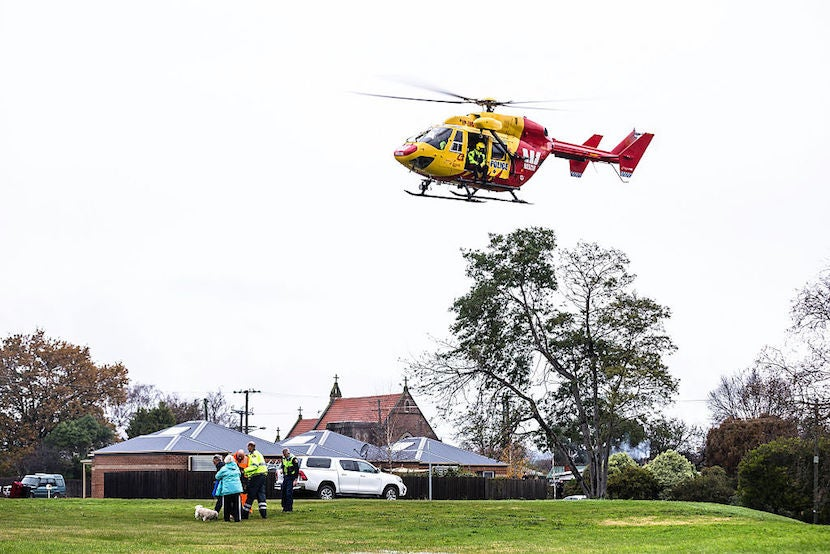 There is no such thing as affordable medical evacuation. Courtesy Getty Images.