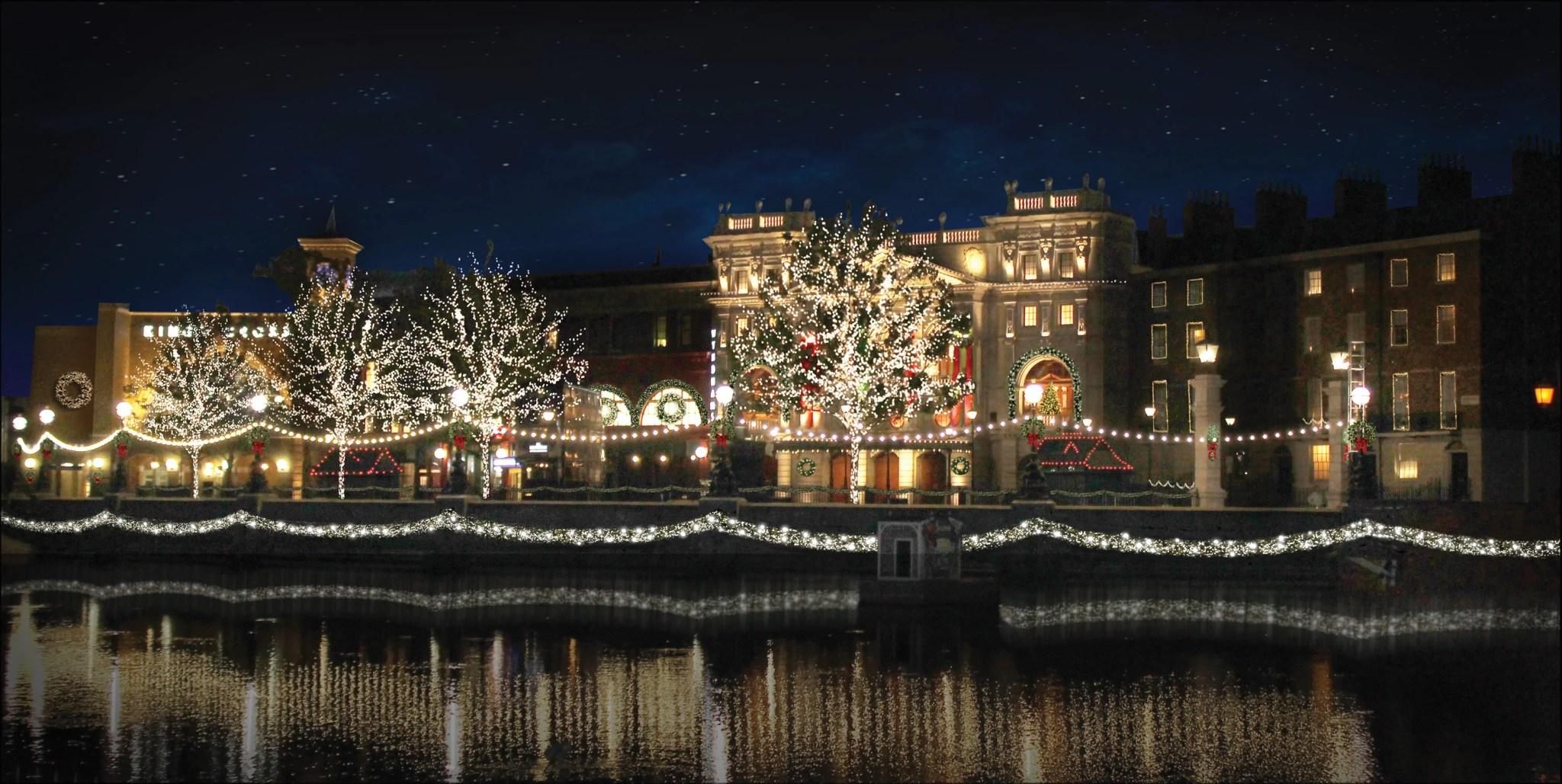 Christmas At Universal Studios Orlando.Coming Soon Harry Potter Christmas At Universal Orlando