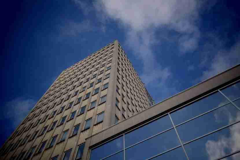Work in beautiful WATT Tower in Antwerp. Image courtesy of Fosbury & Sons.