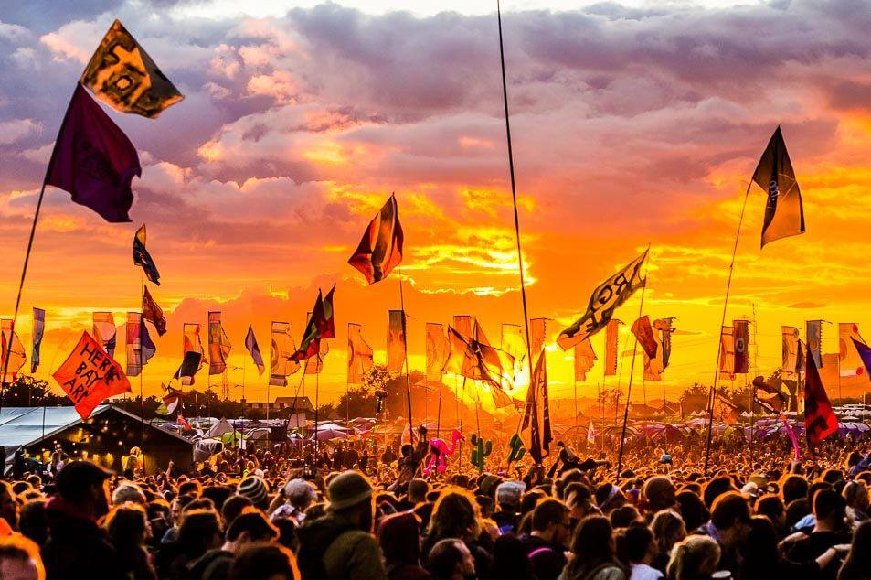 Glastonbury is a great reason to jet off to England this summer, catching acts like Radiohead and Foo Fighters. Image courtesy of Glastonbury Festival