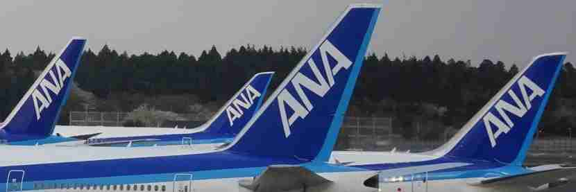There were lots of ANA aircraft at