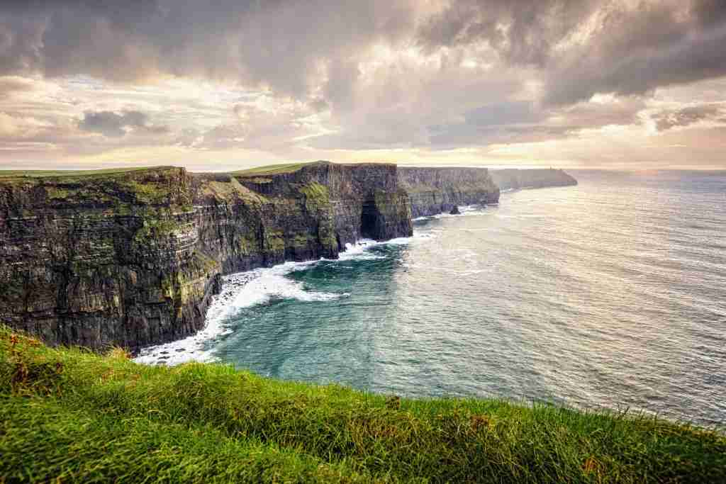 Cliffs of Moher, County Clare, Ireland, The Burren, Europe are one of Ireland
