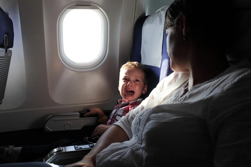 Don't Be a Cry-baby: What to Do When Babies Cry on a Plane