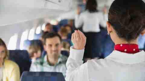 Be nice to the flight crew